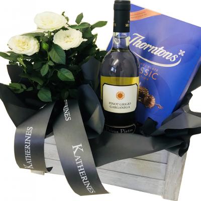 Luxury White Wine Gift Hamper