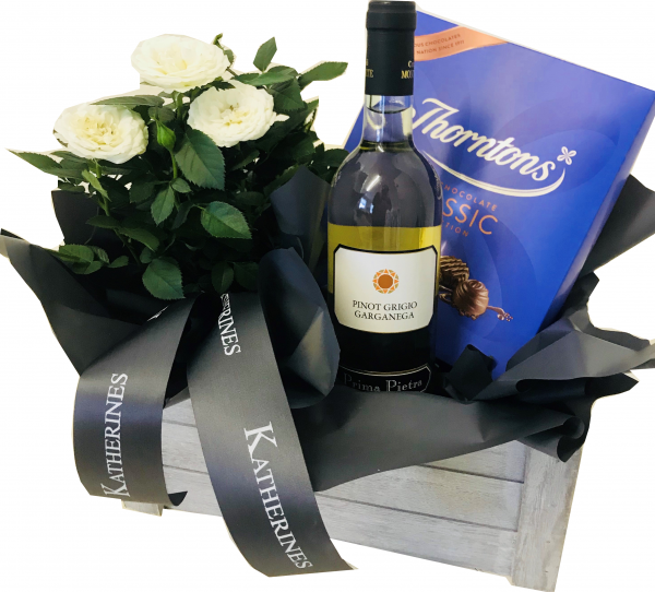 Luxury White Wine Gift Hamper
