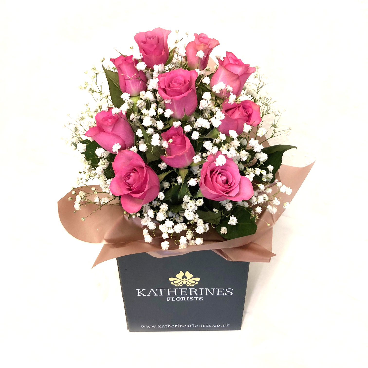 Home katherines florists perfectly pink roses izmirmasajfo