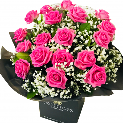 Luxury Large Headed Pink Roses