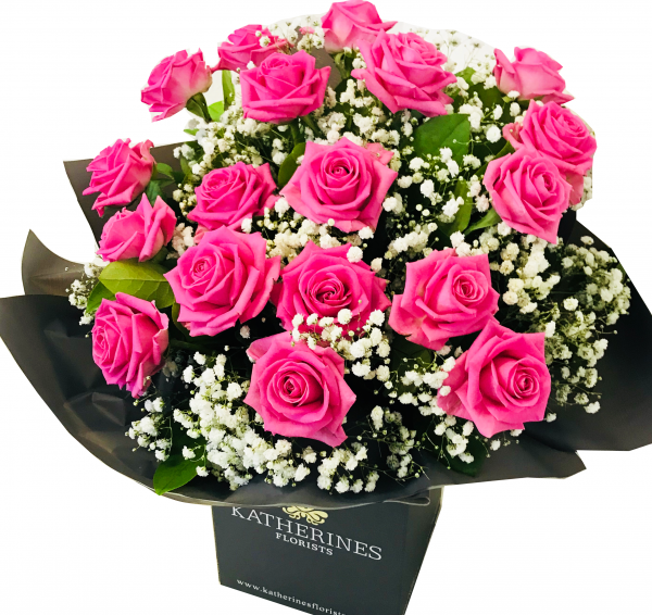 Luxury Large Headed Pink Roses