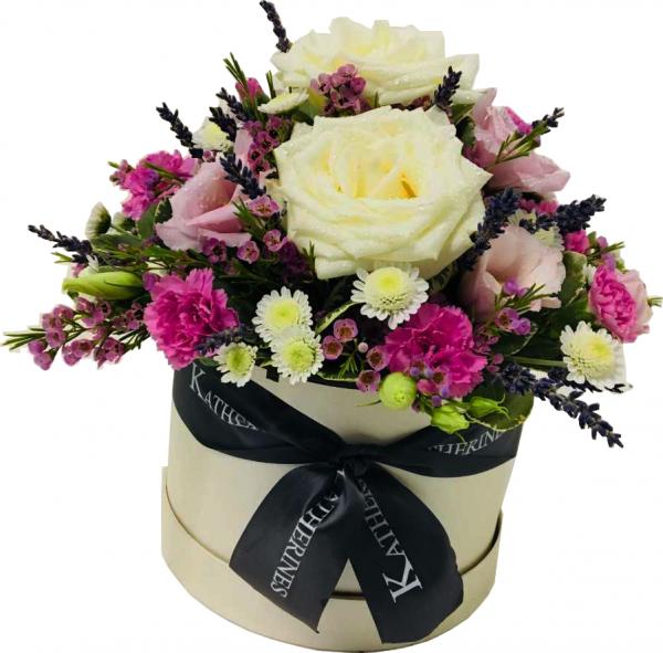Florals Flowers Hatbox