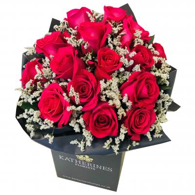 Katherine's Bespoke - Pure Valentines Indulgence Flowers Bouquet