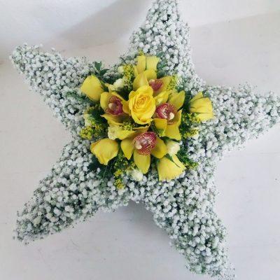 Funeral Flower Star