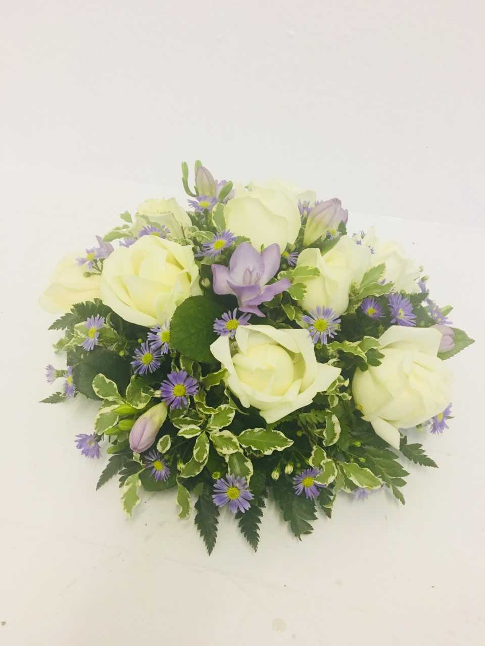 Posy Lilac And White Katherines Florists