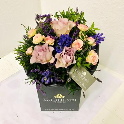 Lavender Surprise Flowers Bouquet