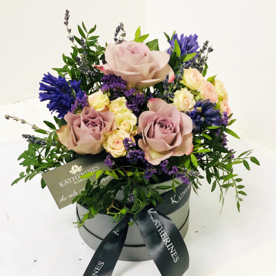 Chic, Scented, Flowers Hatbox