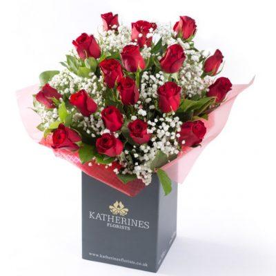 Stylish Valentines Crimson Kisses