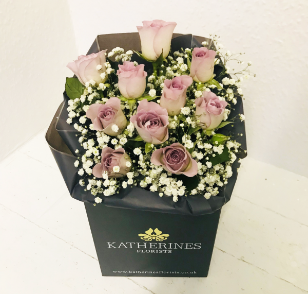 Lovely Lilac Roses Flowers Bouquet