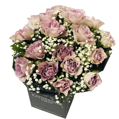 Luxury Large Headed Lilac Roses