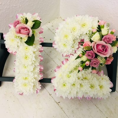 Number 12 Funeral Flowers