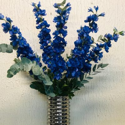 Individual Stem of Blue Delphinium