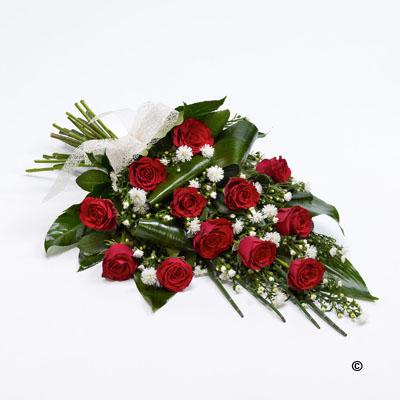 Classic Rose Sheaf - Red