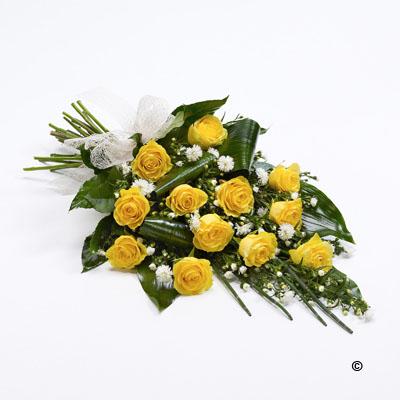 Classic Rose Sheaf - Yellow