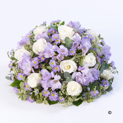 Scented Posy - Lilac and White
