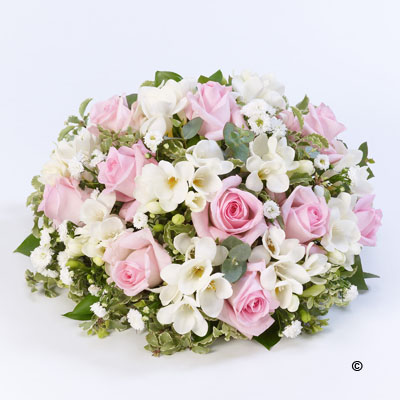 Scented Posy- Pink and White