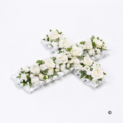 Petite Cross Flowers