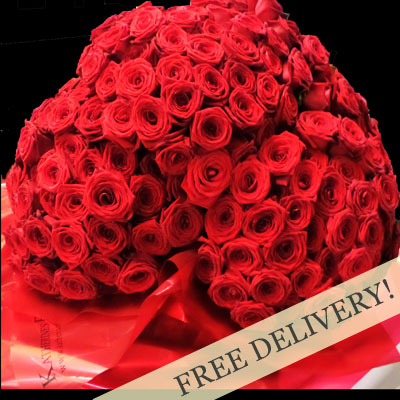 Scintillating X-Factor Red Rose Bouquet