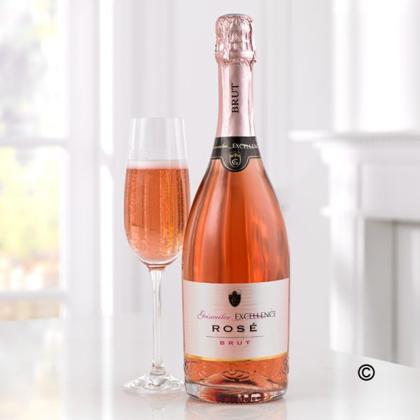 Sparkling Rosé Wine Geisweiler Excellence Rosé Brut