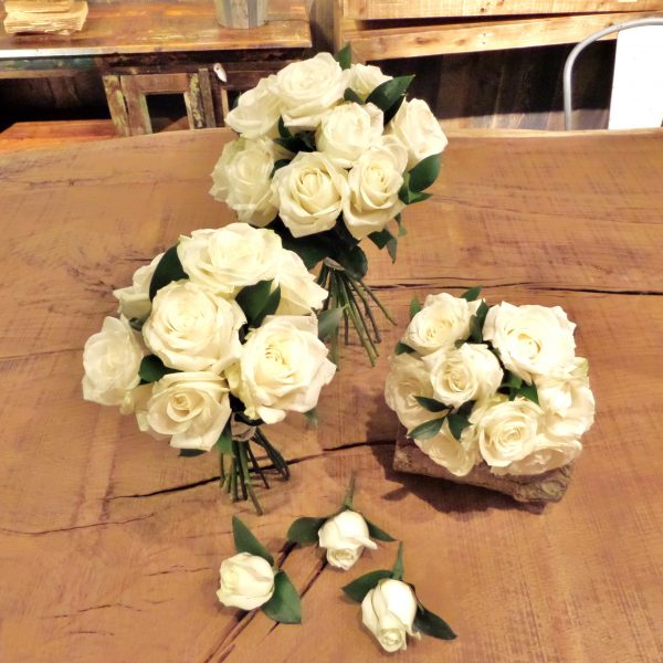 Wedding Collection - Luxury White Roses