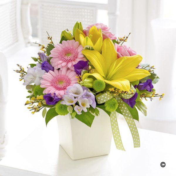 Chic Spring Arrangement