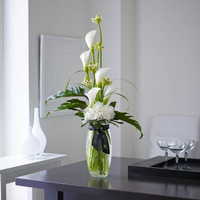 Luxury Calla & Ornithogalum Vase