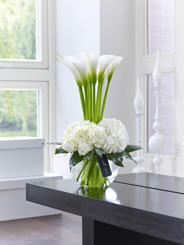 Luxury Calla Lily & Hydrangea Vase