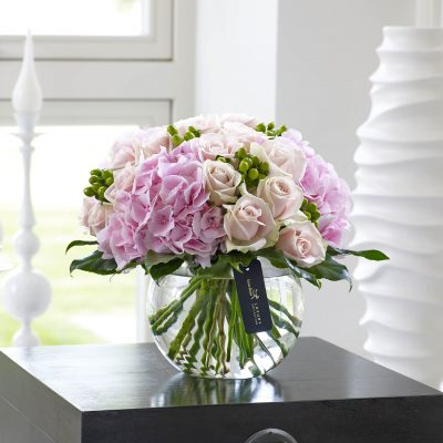 Luxury Pretty Pink Vase