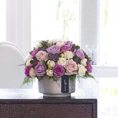 Luxury Rose & Echeveria Arrangement