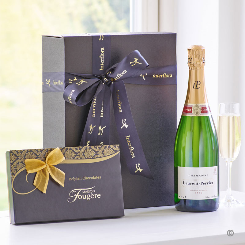 Champagne & Chocolate Gift Set