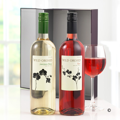 White and Rose Wine Duo